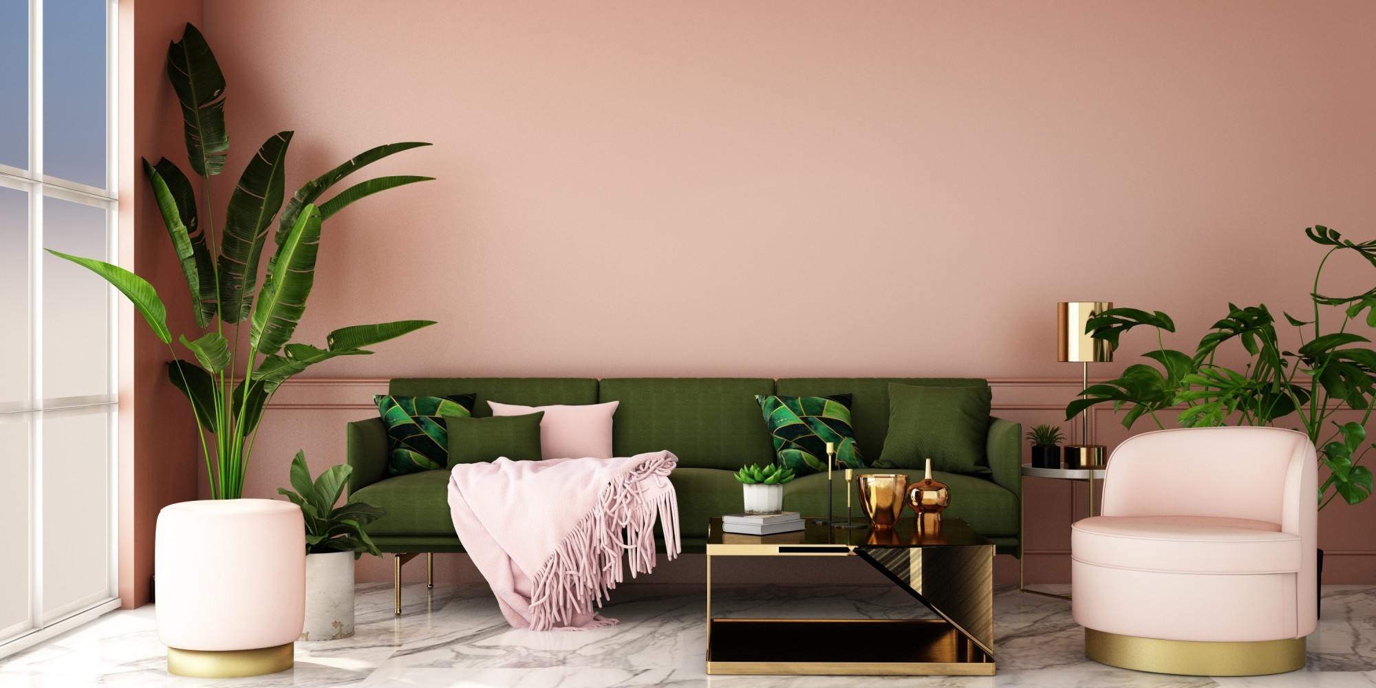 Bring the Rain Forest to You with These Tropical House Plants