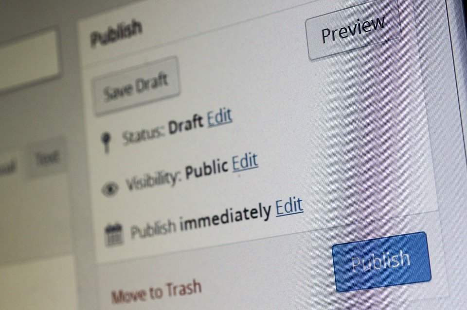Cms, WordPress, Content Management System, Editorial